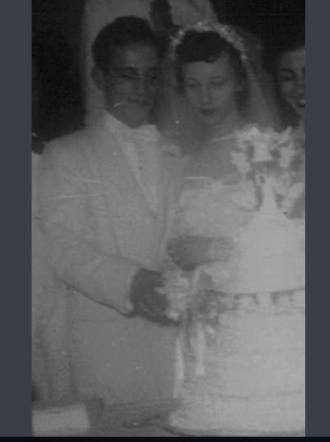 Thomas and Betty Goss Briglovich  Wedding October 29, 1956
