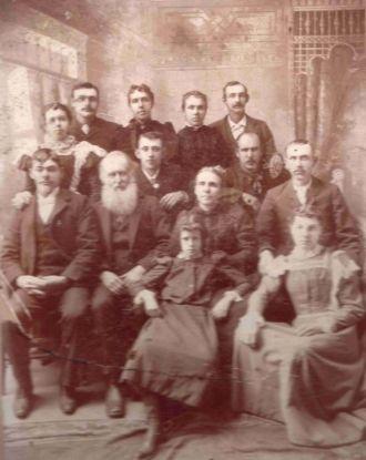 Family of Joseph and Caroline Igglesden Sanborn