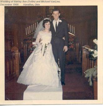 Shirley Ann Tuttle's wedding in Dec 1966