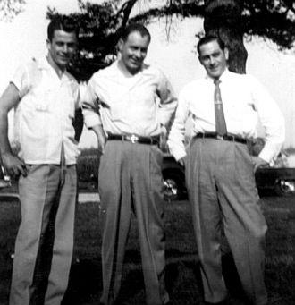 Eldon Rudd, Dewey Moore, Junior Morrow
