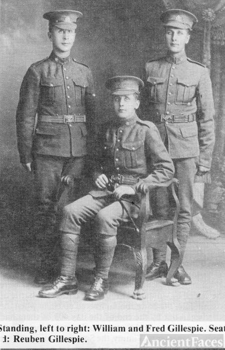 William, Reuben and Fred Gillespie