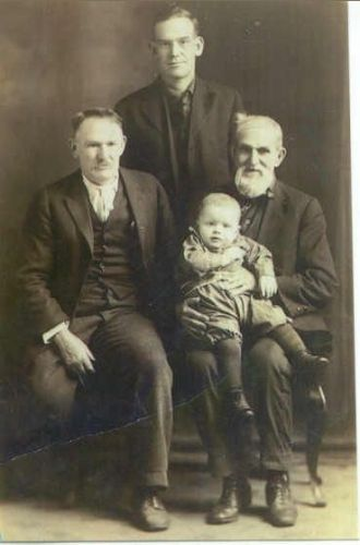 James, Henry, Leonard, & Donald Trueman, Illinois