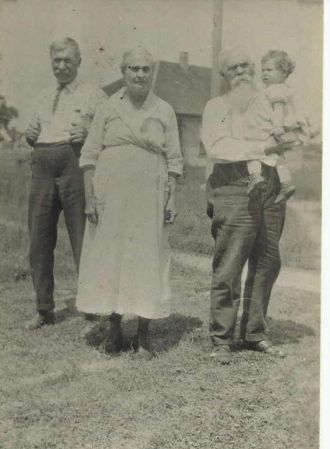 George W. Bodwell, Annie E. Carl, Benton Carl