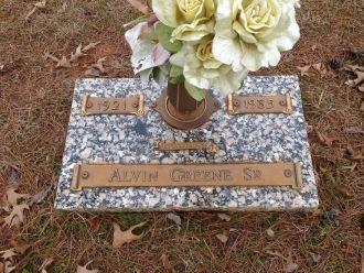 Alvin Greene Sr. gravesite