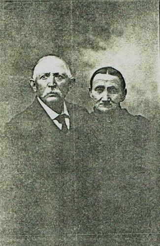 Frederick & Christina (Lange) Blankschein, 1900