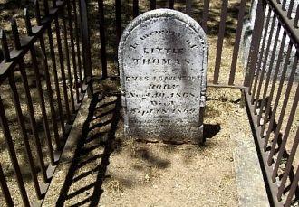 Thomas Davenport Headstone