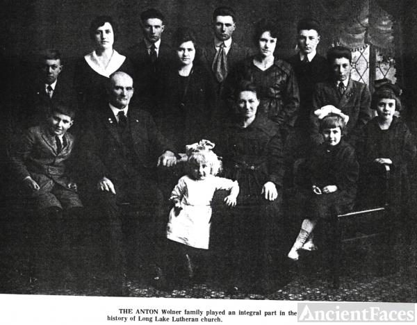 Anton Wolner Family From Odin Minnesota