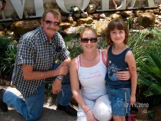 Bruce Clark Hodges family