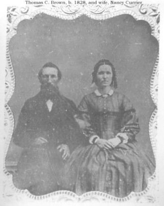 Tom and Nancy (Currier) Brown