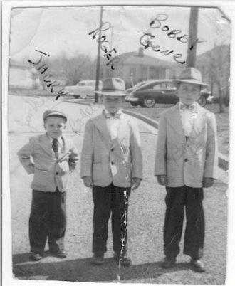 Jacky,Roger and Bobby Gene Sheaves