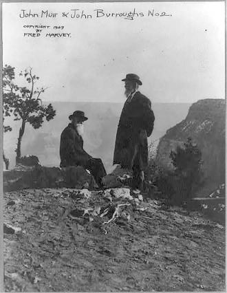 [John Muir and John Burroughs