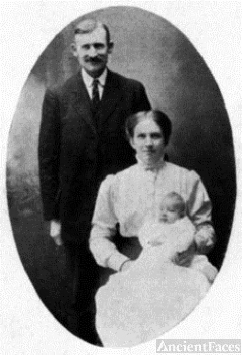 Gilbert Danbom Sweden 1912