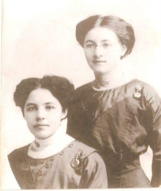 Laura and Maude Martin