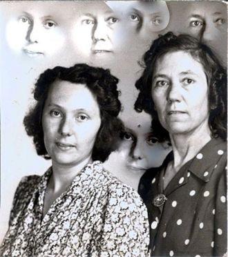 Ruby (Savage) Mullenox & Wanda Haylock