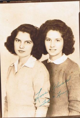 Teddi Rose and Lucille Robinson