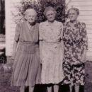 Aunt Icie, Mama, Aunt Loula Tucker