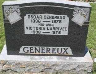 Headstone of Joseph Oscar Cleophas Genereux