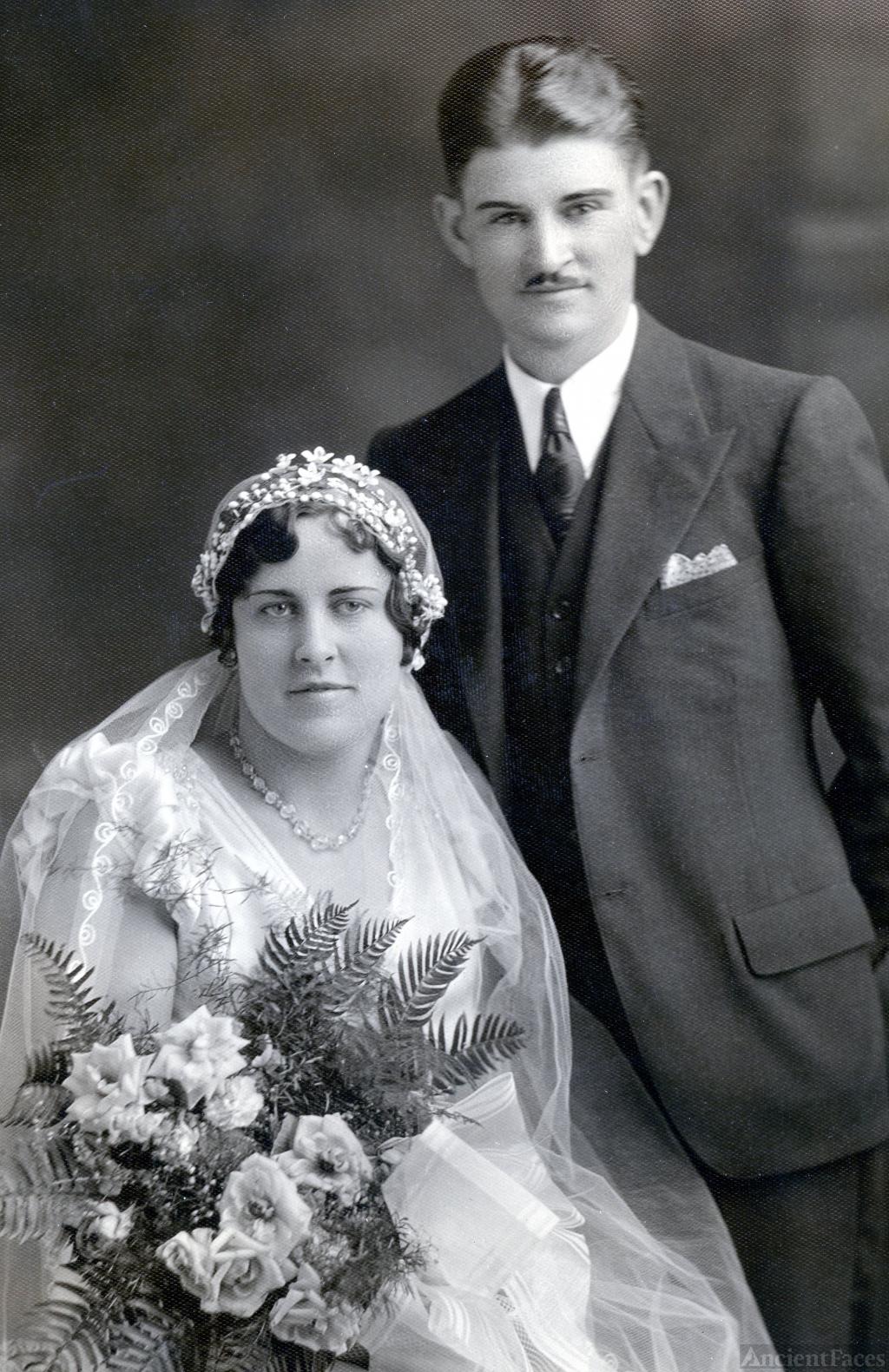 Christine & Phillip Kneifl, 1932