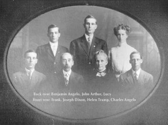 The Joseph Dixon family from Iowa and Kentucky