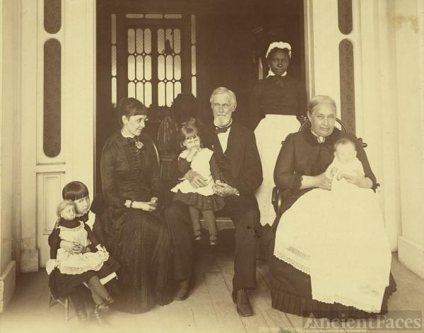 Jefferson Davis, three generations