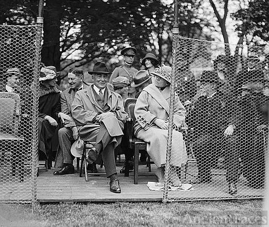 Warren G. Harding & Florence Harding
