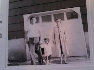 Myers family, 1959