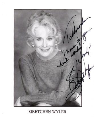 A photo of Gretchen Wyler