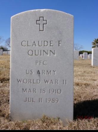 Claude Freeman Quinn Gravesite