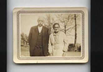 Mrs. Turner (Frank's Mother) and Mr. Johnson
