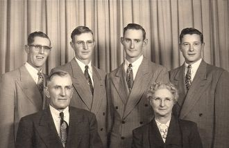 William & Hattie (Kirchoff) Dettmer family