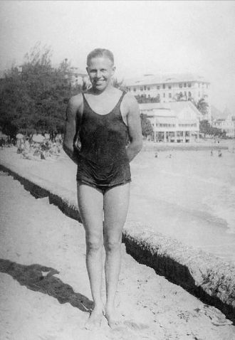 Harry Hooper at Ocean