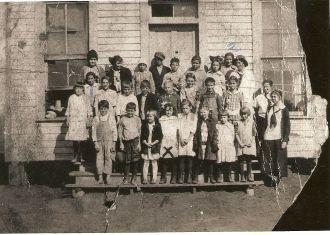 Old Woodward Rural School circa 1917