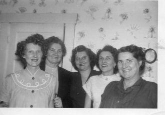 Davis Family, 1953
