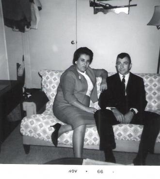 Della and Sam Fournier