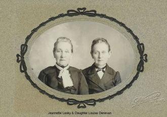 Jeannette Lasky & Louisa Denevan