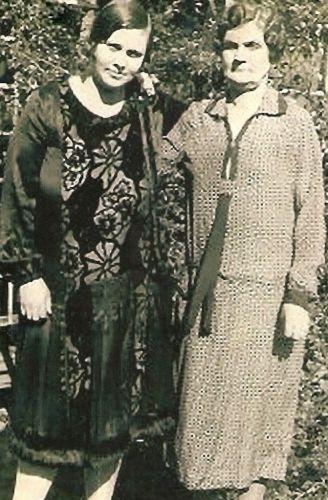Lela May Bogard and Elizabeth Bell