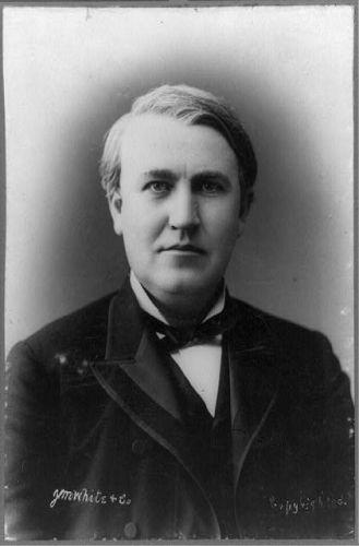 [Thomas Edison, half-length portrait, facing front] /...