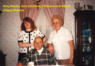 Amy Nason, Vera & Albert Macere