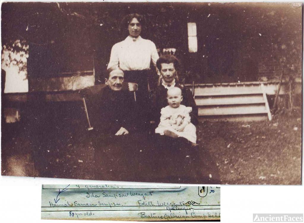 4 Generations: H Eaman to B Gallinger