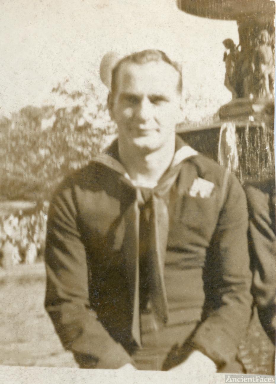 Alan Gregory, U.S. Navy WWII