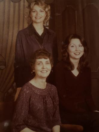 Mom, ChaCha and me