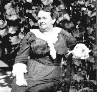 A photo of Cora (Austin) Tibbetts