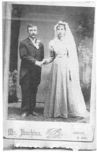 William J Bryne & Cordelia F Herren 1896
