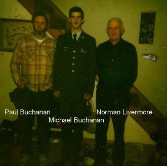 Paul & Michael Buchanan, and Norman Livermore