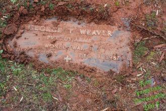 George T Weaver gravesite