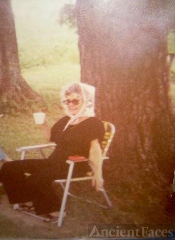 Mary Christine  Graves Hyman Allen