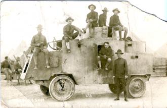 World War I Armored Car