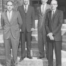 Principal Jesse L. Richards, Supervisor James Grimes, Supt. Robert Piper, Board Member Isaac Mason Adairville High School