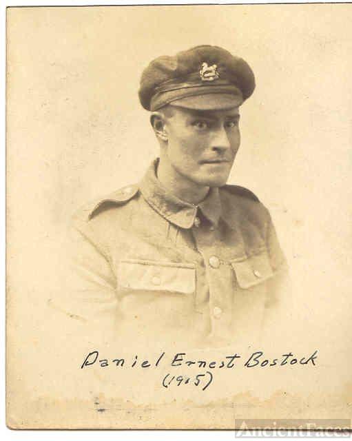 Daniel Ernest Bostock, King's Liverpool Regiment