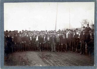 United Mine Workers of America Anthracite Coal Strike of 1902 in Scranton, Pennsylvania